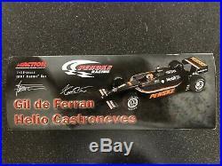 1/18 Indy Action Penske 2002 Collectable Gil De Ferran / Castroneves AUTOGRAPHED