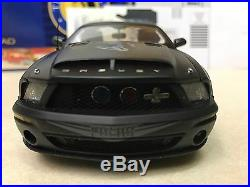 1/24 Franklin Mint 2008 Shelby Mustang 500KR Police Signed Autographed by Shelby