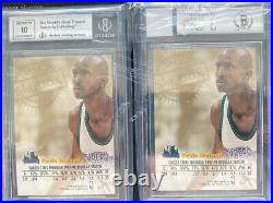 1998-99 Skybox Autographics Kevin Garnett Black & Blue /50 BGS 9/10 Timberwolves