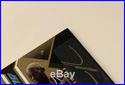 2006-2007 Upper Deck UD Black MICHAEL JORDAN/DENNIS RODMAN Dual Signed Auto /10