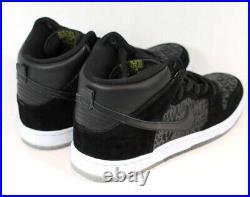 2013 Nike Dunk SB Premium BLACK 313171-018 Designer NeckfaceAUTOGRAPH Box 1/1