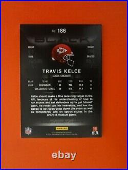 2013 Panini Black Travis Kelce Kc Chiefs Rc Auto Autograph #6/10