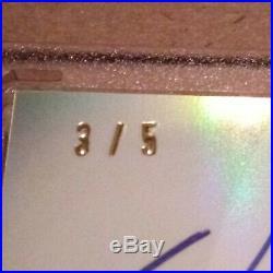 2014 Will Clark 3/5 Topps Tribute Dual Auto Autograph Eye Black Patch Eccentric