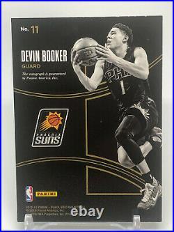2015-16 Devin Booker Rookie Autograph Auto Black Gold RC /199 SP