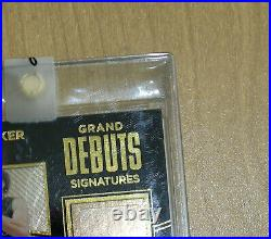 2015-16 Devin Booker Rookie autograph auto Grand Debuts Black Gold 184/199