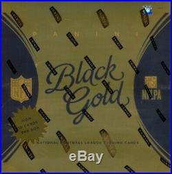 2015 Panini Black Gold Football Hobby Box Blowout Cards