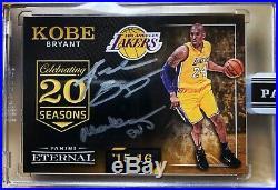 2016-17 Eternal Kobe Bryant Inscription Black Mamba Out AUTO #/8 ONLY 8