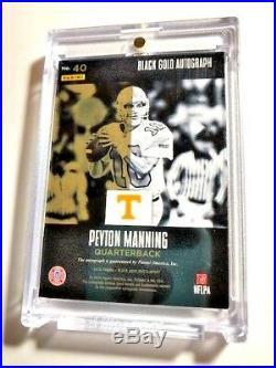 2016 Panini Black Gold Autograph Peyton Manning