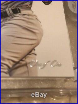 2017 Panini Flawless Aaron Judge Rookie Autograph Black Edition 1/1 Encased