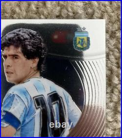 2018 Panini World Cup Prizm Soccer Diego Maradona Auto Argentina Black Autograph