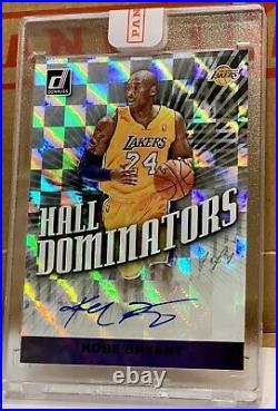 2019-20 Kobe Bryant 1/1 Autograph Donruss Hall Dominators BLACK one of one
