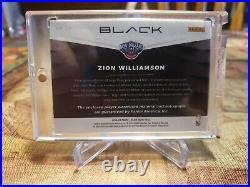 2019 Panini BLACK Zion Williamson Rookie Jersey Autograph /49 (BEST DEAL EBAY)