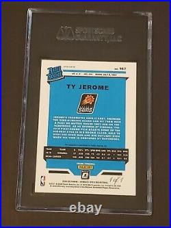 2019 Panini Optic Black Prizm 1/1 One of One Ty Jerome RC Auto Rookie Autograph