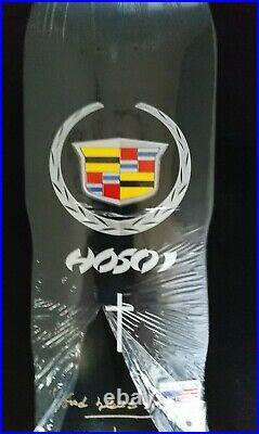 2020 Christian Hosoi Signed Cadillac Black Autograph Skateboard Deck