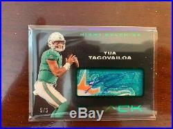2020 NFL Panini Black Tua Tagovailoa Autograph RPA /5 Green RJA-TT