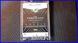 2020 Panini Black Football Tua Tagovailoa Autograph Laundry Tag #1/5
