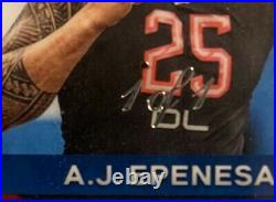2020 Prizm AJ Epenesa Black Finite True 1 of 1 Auto RC! Bills DE 2nd Rd Rookie