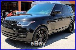 22 TSW Autograph Gloss Black Wheels Rims Land Rover Range Rover Sport Full Size