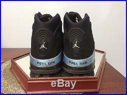 Air Jordan 17 XVII Jordan Autographed Signed Auto Shoe Size Sz 13 Upper Deck UDA