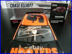 Autographed Version Chase Elliott 2020 Hooters Black Night Owl Rare Only 72