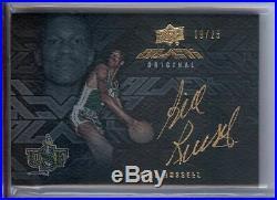 Bill Russell 2013-14 UD Black Signatures Auto Autograph Celtics #S-BR 19/25