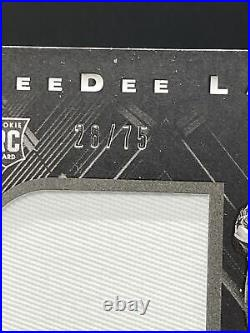 Ceedee Lamb Dallas Cowboys 2020 Panini Black RPA RC Auto / Jersey Patch /99