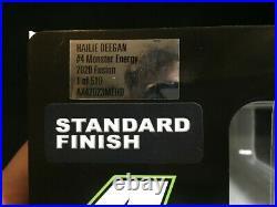 Hailie Deegan #4 Monster Energy Raced Daytona Speedway Autographed Rookie 2020