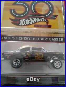 Hot Wheels 55 Gasser, 32nd Nationals Convention Black and Gold, #611 AUTOGRAPHED