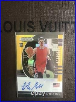 LaMelo Ball 2020-21 Prizm #4/5 Black Gold Maybe PSA 10 RC AUTO Rookie SP pop