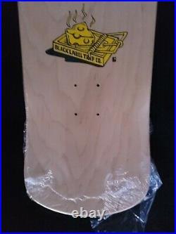 Lance Mountain Signed Black Label Rat Trap Guest Deck Autograph Skateboard