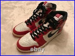 Michael Jordan Autographed Game-issued Player Sample Air Jordan 1 Sneakers