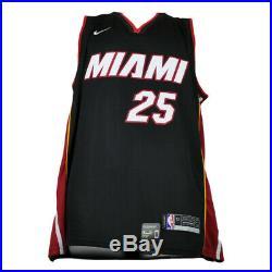 NBA Miami Heat Kendrick Nunn #25 Nike Jersey Black JSA Autographed Signed