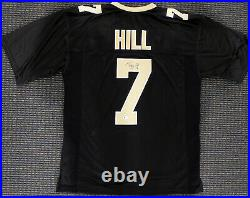 New Orleans Saints Taysom Hill Autographed Signed Black Jersey Beckett 181312