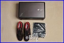 Nike Magia II Gran Turismo 4 Edition autographed by Kazunori Yamauchi