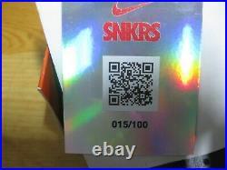 Nike Peaceminusone paranoise G-Dragon autograph Sz 7