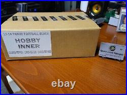 Panini BLACK 2013 Football Hobby Box from SEALED CASE 5 HITS (AUTO/MEMO)