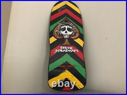 Powell Peralta Steve Steadham 2011 skateboard Autographed New condition