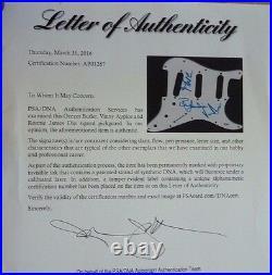Ronnie James Dio + 2 Black Sabbath Signed Autographed Guitar PSA Certified