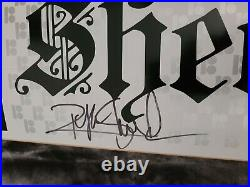 Ryan Sheckler Signed Plan B Pro Model Black and White Skateboard Autograph Deck