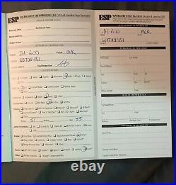Slayer Autographed ESP LTD Jeff Hanneman Guitarvery rare entire band signed