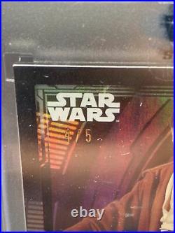 Star Wars Signature Series 2021 Ewan McGregor Obi-Wan Kenobi Black 4/5