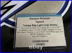 Tampa Bay Lightning Autographed Dwayne Roloson Jersey NWT