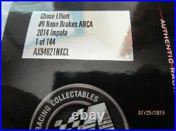 XRARE! 2014 Chase Elliott NON Autographed ARCA 1/24 Rookie